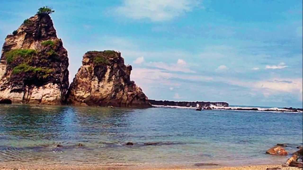 Pantai Sawarna Tempat Wisata Lebak Banten Youtube Kab