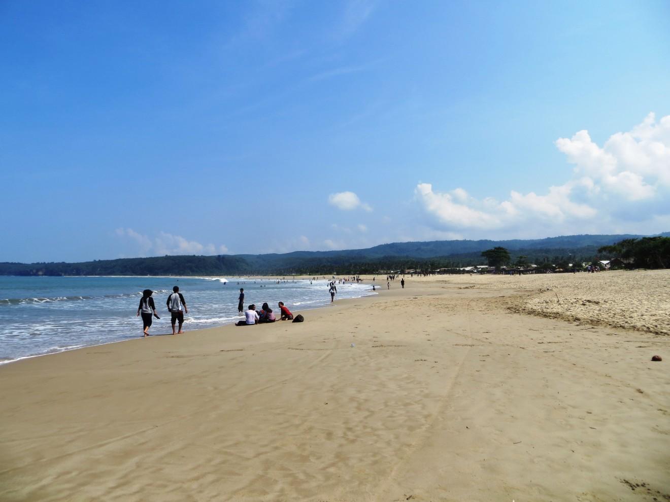 Rute Menuju Pantai Sawarna Bayah Lebak Banten Tulisanbiasabambang Hidden Paradise