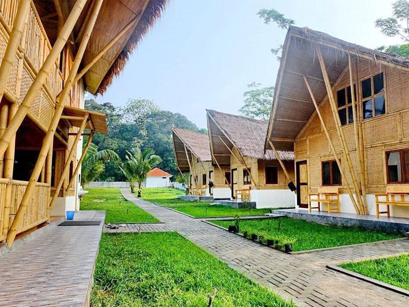 Sawarna Paradiso Cottage Cafe Pantai Kab Lebak