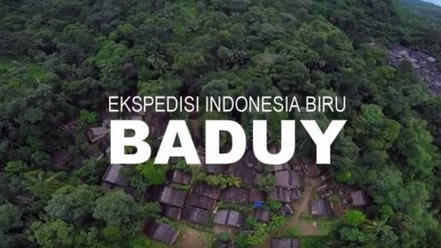 Baduy Ekspedisi Indonesia Biru Vidio Perkampungan Tradisional Kab Lebak