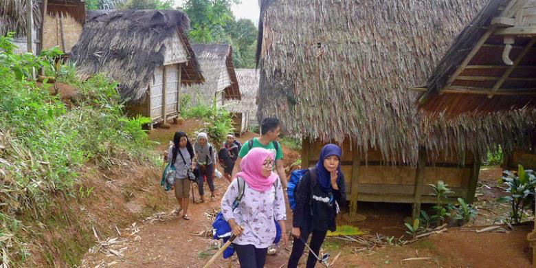 Belajar Kearifan Lokal Baduy Kompas Perkampungan Tradisional Kab Lebak
