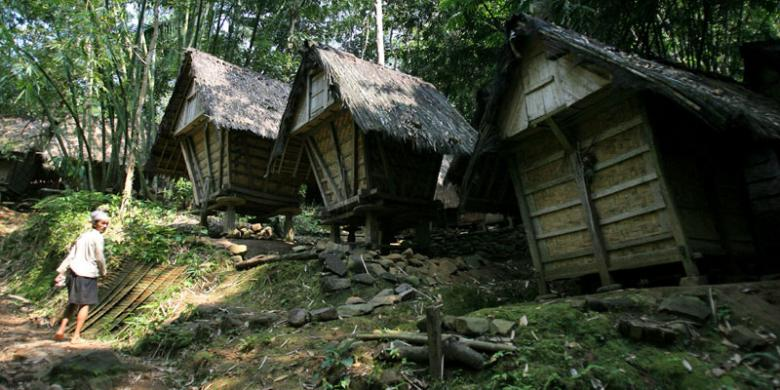 Jalankan Tradisi Kawalu Wisatawan Dilarang Masuki Baduy Perkampungan Tradisional Kab