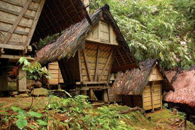 Kawasan Masyarakat Baduy Melihat Suasana Alam Budaya Rumah Adat Baduy2