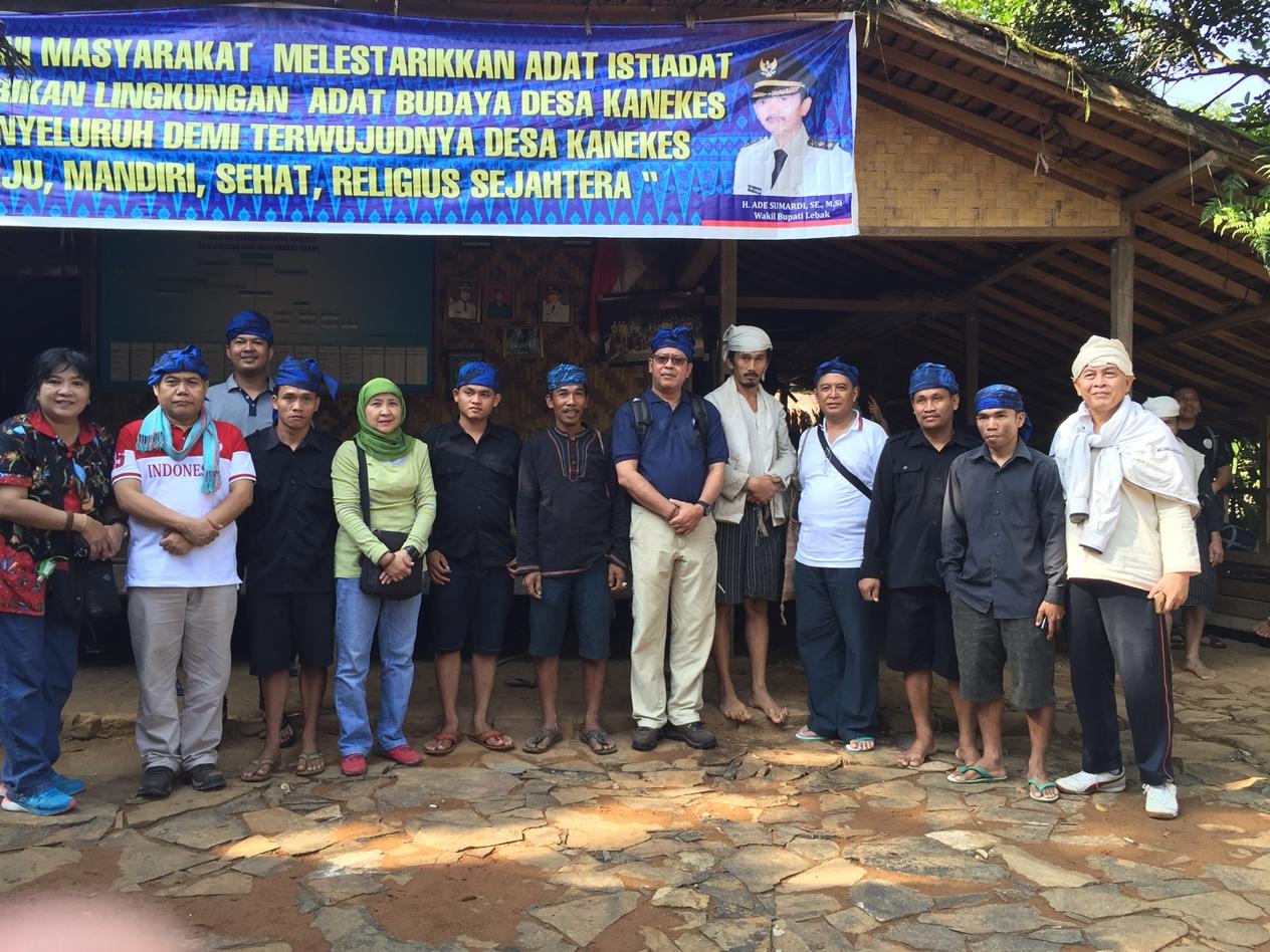 Kunjungan Lapangan Deputi Vii Baduy Luar Situs Lebak Perkampungan Tradisional