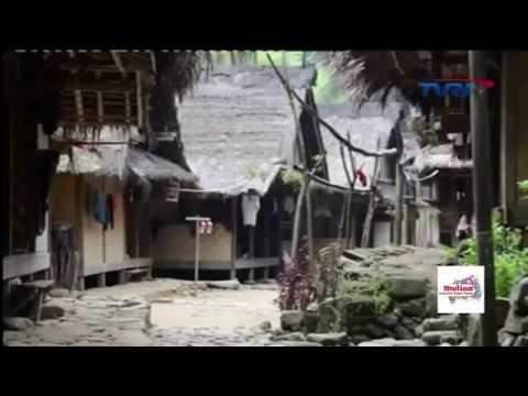 Mengenal Budaya Suku Baduy Badui Kab Lebak Banten Youtube Perkampungan