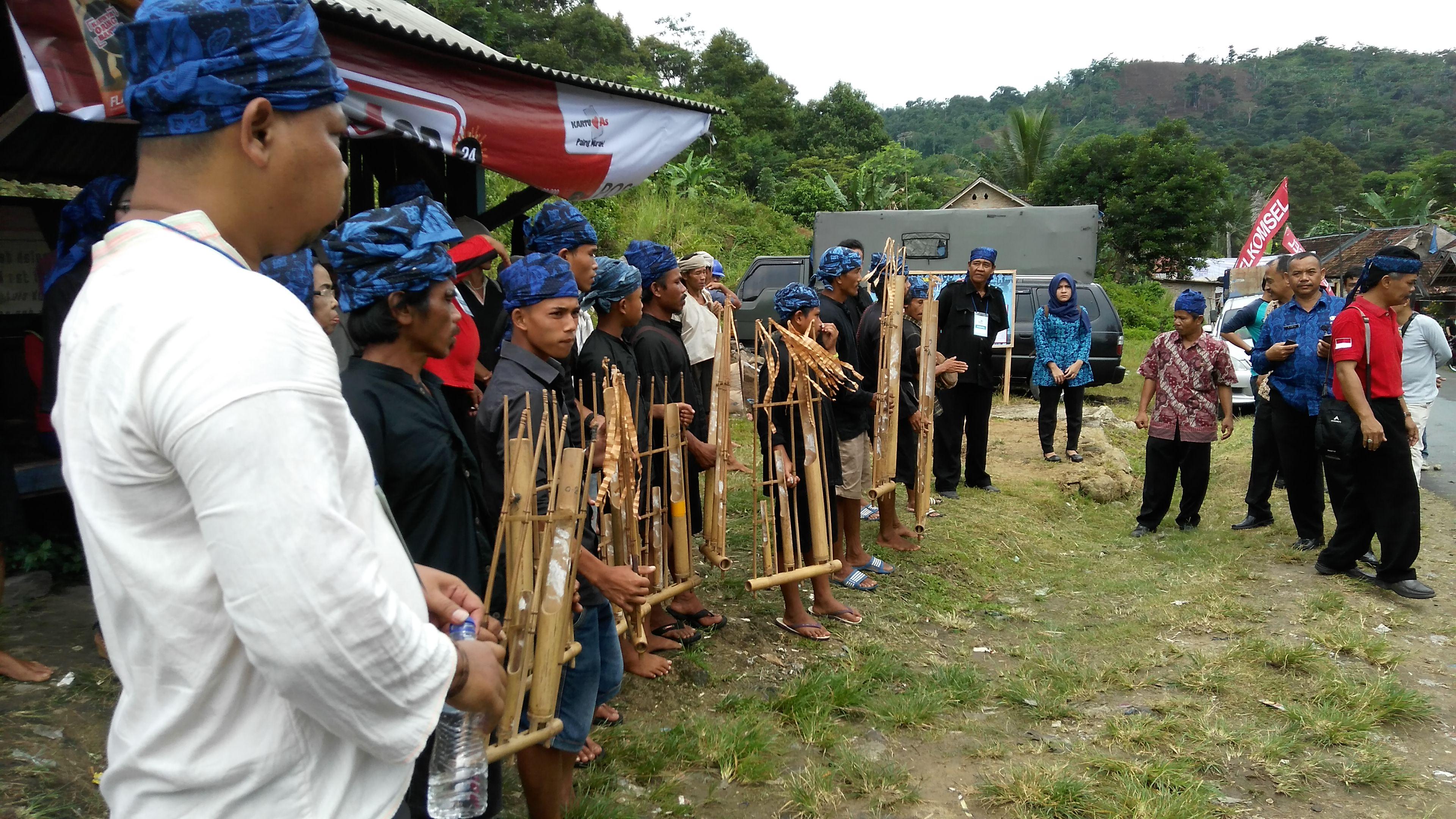 Meriah Ribuan Warga Ikuti Festival Baduy Desa Kanekes Kec Perkampungan