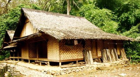 Rumah Adat Suku Baduy Indonesia Perkampungan Tradisional Kab Lebak