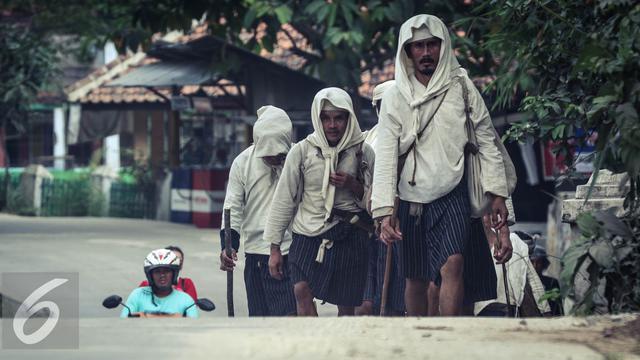 Seba Baduy Ribuan Urang Kanekes Menghadap Abah Gede Regional 20160513