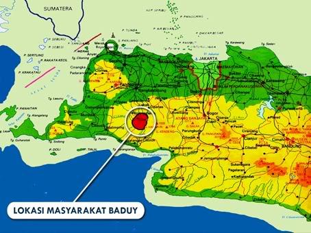 Suku Baduy Kaos Banten Khas Kata Jawara Clothing Perkampungan Tradisional