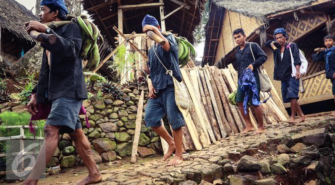 Tradisi Seba Ritual Jalan Kaki Baduy Melegenda Bola Liputan6 20160513