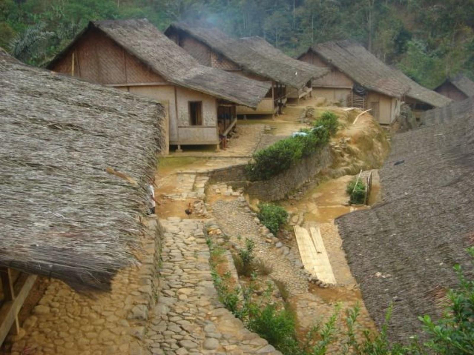 Udelll Area Arsitektur Sunda Kampung Baduy Biasanya Disebut Tetapi Sendiri