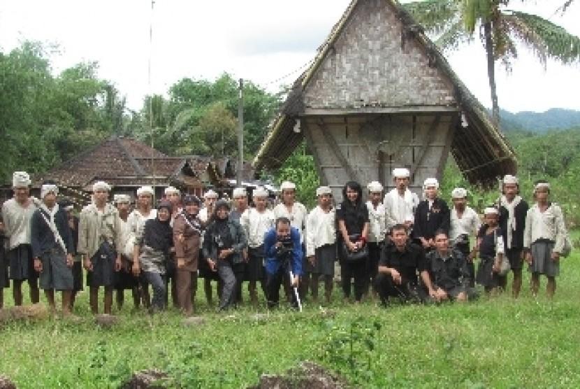 Wisatawan Dilarang Memasuki Kawasan Baduy Republika Online Warga Suku Kabupaten