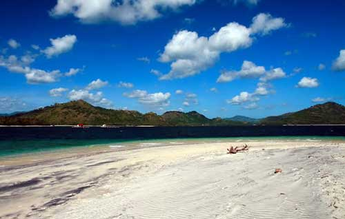 Feel Peace Gili Tangkong Seclusion Lombok Indonesia Island Kab Barat
