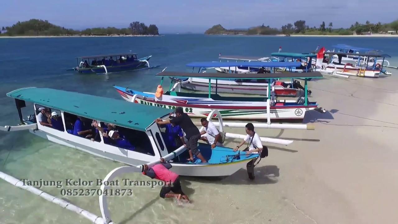 Gili Kedis Tangkong Tanjung Kelor Boat Transport Lombok Barat Kab