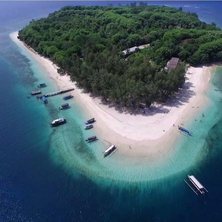 Gili Nanggu Tidak Kalah Cantik Trawangan Lombok Click Pulau Masuk