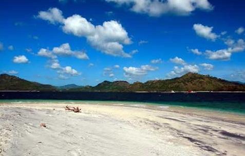 Jalan Gili Tangkong Lombok Paket Wisata Pantai Kab Barat