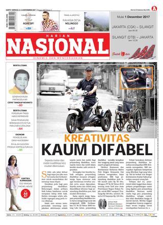 Harian Nasional Issuu Page 1 Pasar Sesaot Kampung Kreatif Sekawan