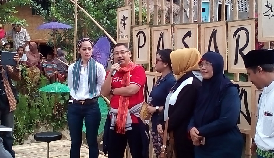Pasar Pancingan Angkat Potensi Wisata Desa Hijau Bilebante Gunung Lembah