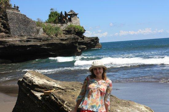 Batu Bolong Temple Lombok Picture Senggigi Hram Pura Kab Barat