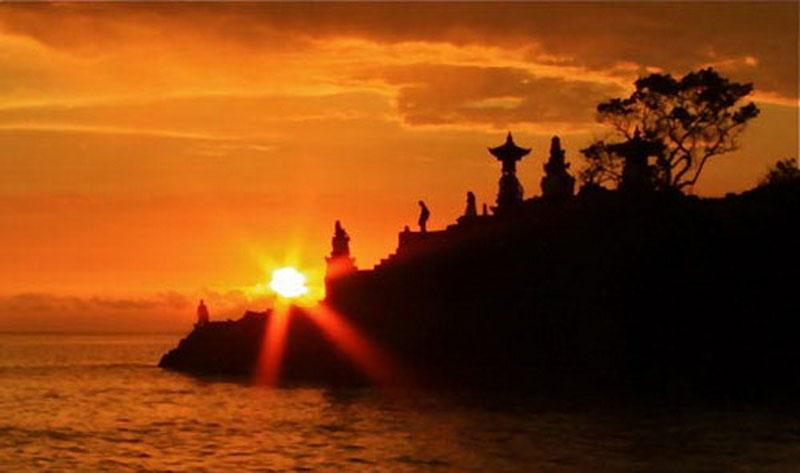 Lombok Senggigi Batu Bolong Temple Bali Java Pura Kab Barat