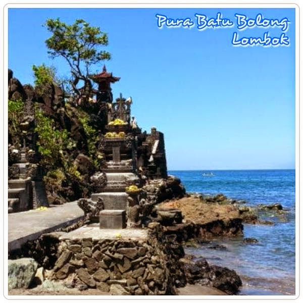 Obyek Wisata Lombok Barat Pura Batu Bolong Kab