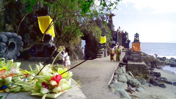 Pura Batu Bolong Lombok Ntb Indonesian Share Watu Kab Barat