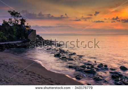 Senggigi Stock Billeder Royaltyfri Og Vektorer Shutterstock Pura Batu Bolong