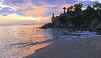 Pura Lingsar Lombok Option Batu Bolong Gunung Pengsong Kab Barat