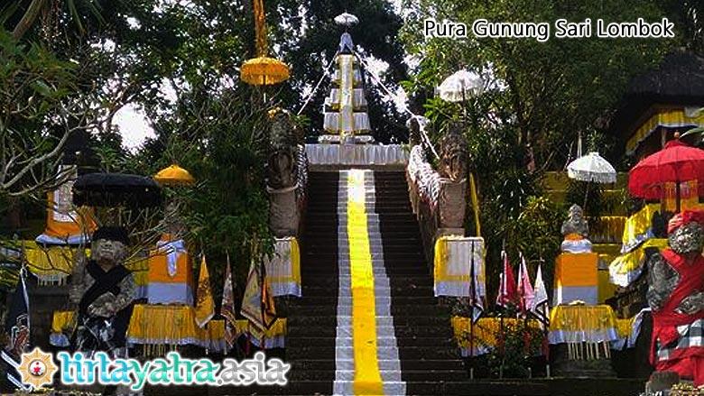 Tirtayatra Asia Pura Gunung Sari Agung Lombok Megah Piodalan Pengsong