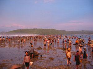 Aik Bukak Pemandian Tertua Lombok Tengah Wisata Pesta Adat Bau