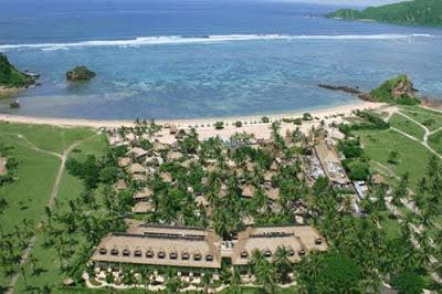 Centralombok Januari 2010 Novotel Lombok Terletak Pantai Selatan Pulau Satu