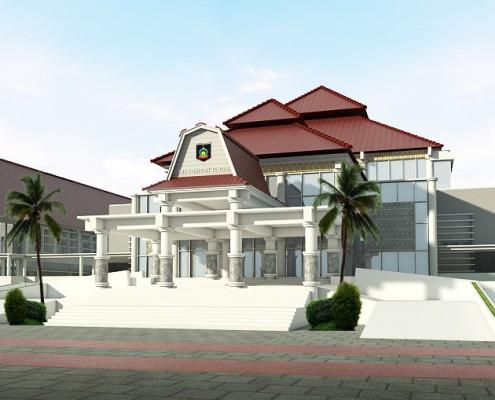 Pemerintah Kabupaten Lombok Tengah Dprd Kantor Pemandian Aik Bukak Kab