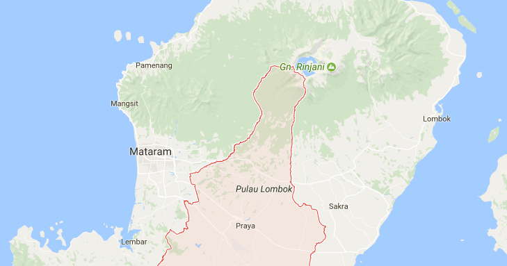 Tempat Wisata Kabupaten Lombok Tengah Pemandian Aik Bukak Kab