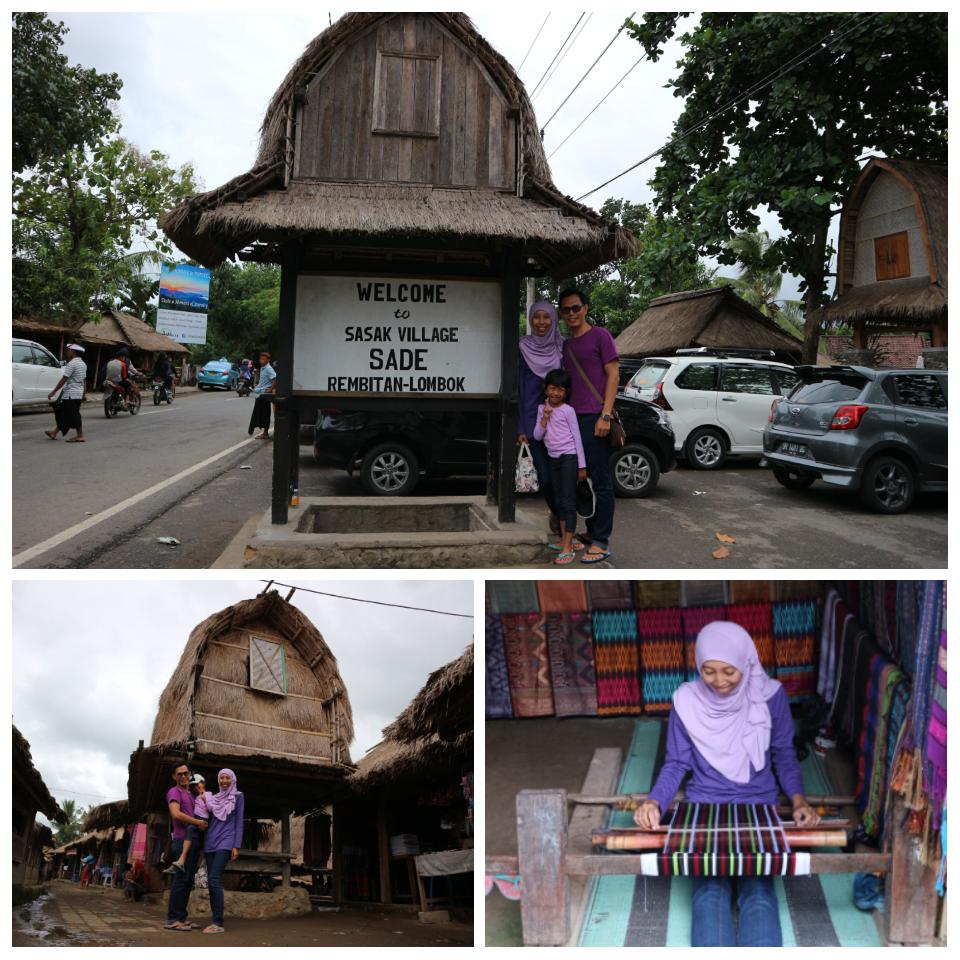 Ayah Traveling Berlibur Lombok Desa Sasak Sade Berada Rambitan Kecamatan