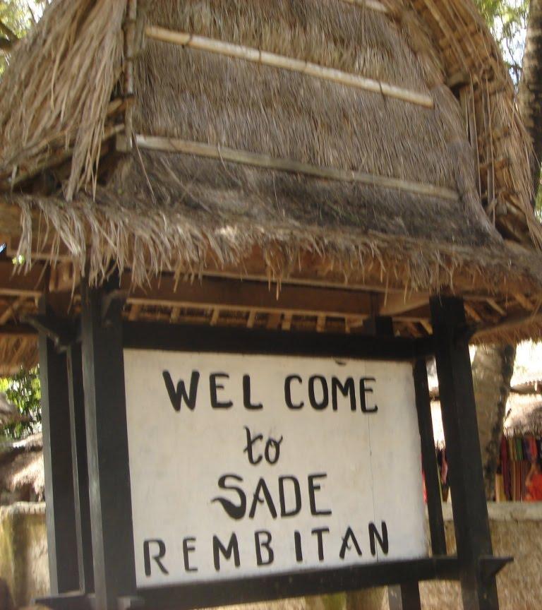 Desa Sade Tradisional Sasak Lombok Sumbawa Dusun Terletak Kecamatan Pujut