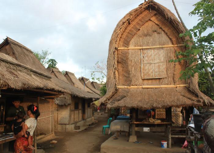 Kampung Tradisional Sade Lombok Trans Holiday Tour Travel Tepatnya Berada
