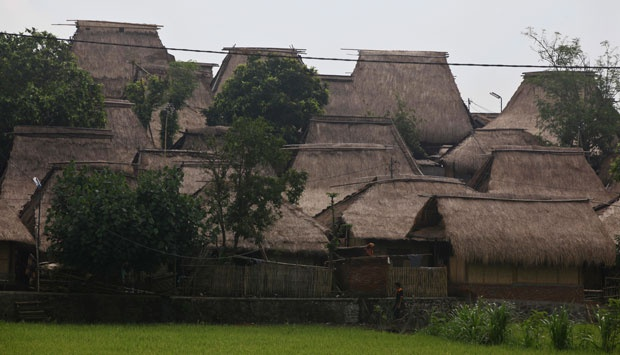 Menjaga Lumbung Tanah Lombok Nasional Tempo Kampung Suku Sasak Rumah