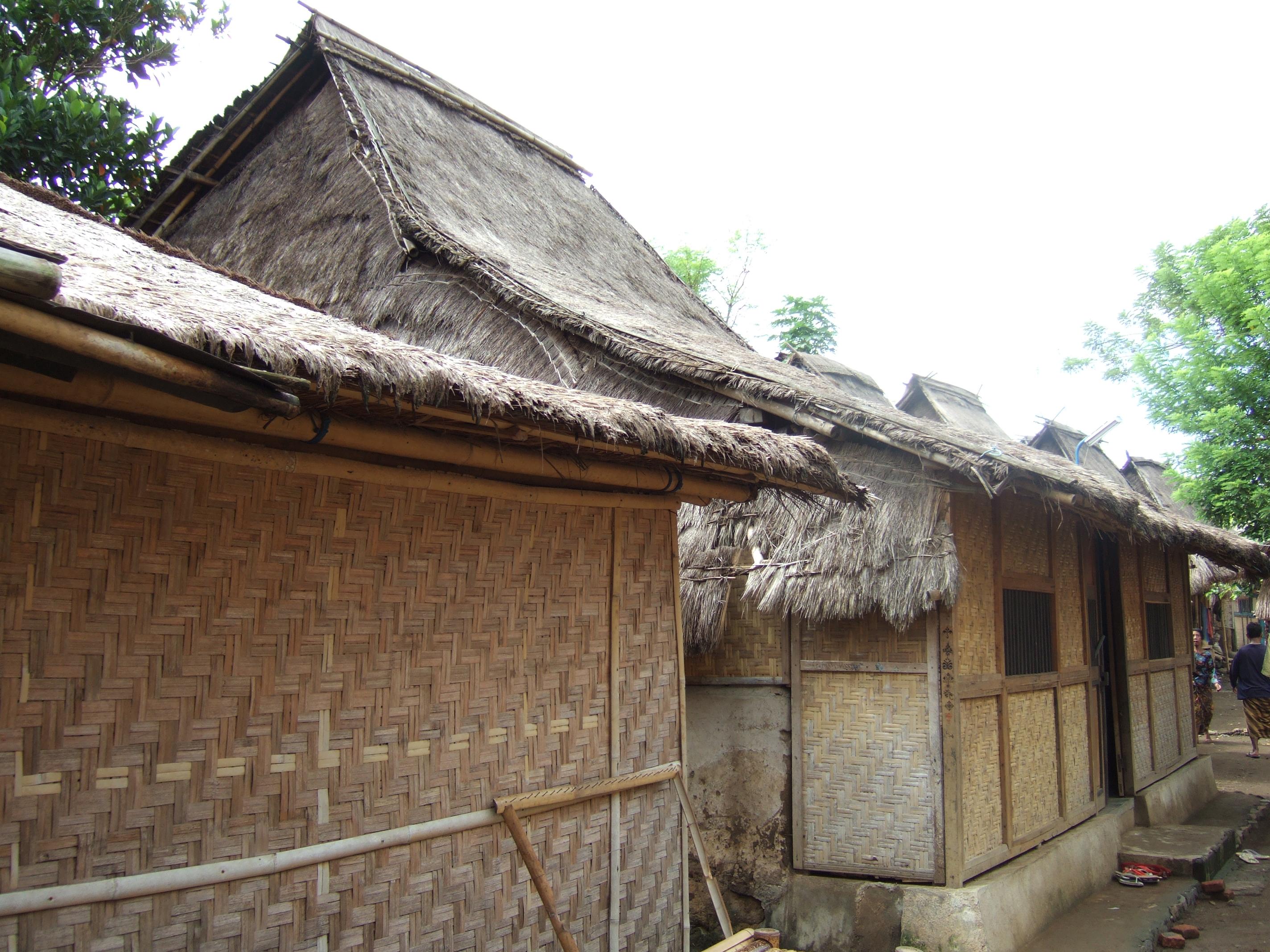 Sade Lombok Tengah Wikipedia Bahasa Indonesia Ensiklopedia Bebas Rumah Adat