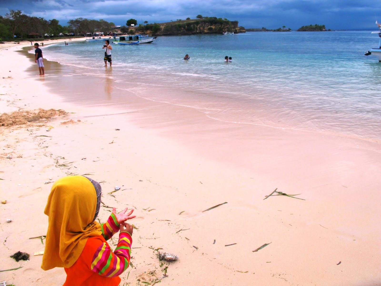 Explore Lombok Pantai Pink Timur Haya Zone Mendung Kab