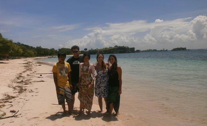 Jalan Pantai Pink Lombok Timur Rinjani Web Net Kab