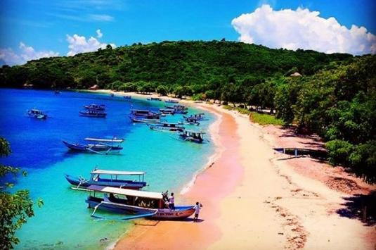 Serpihan Surga Jatuh Bumi Pantai Pink Kabar Wisata Lombok Kabarwisata