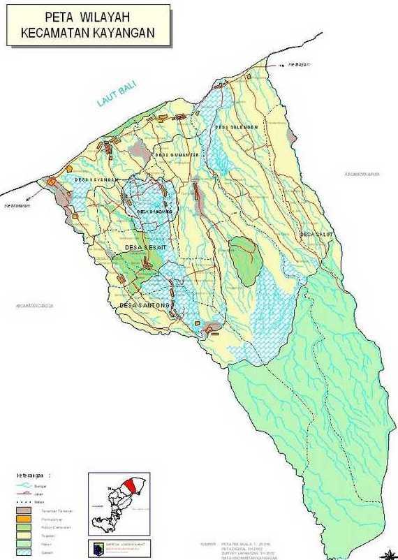 Daftar Nama Desa Dusun Kecamatan Kayangan Kab Lombok Utara Gumantar
