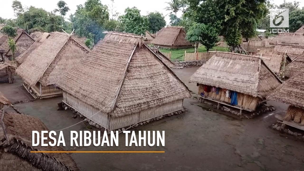 Desa Berumur Ribuan Dibuka Sebagai Destinasi Wisata Sebuah Perkampungan Rumah
