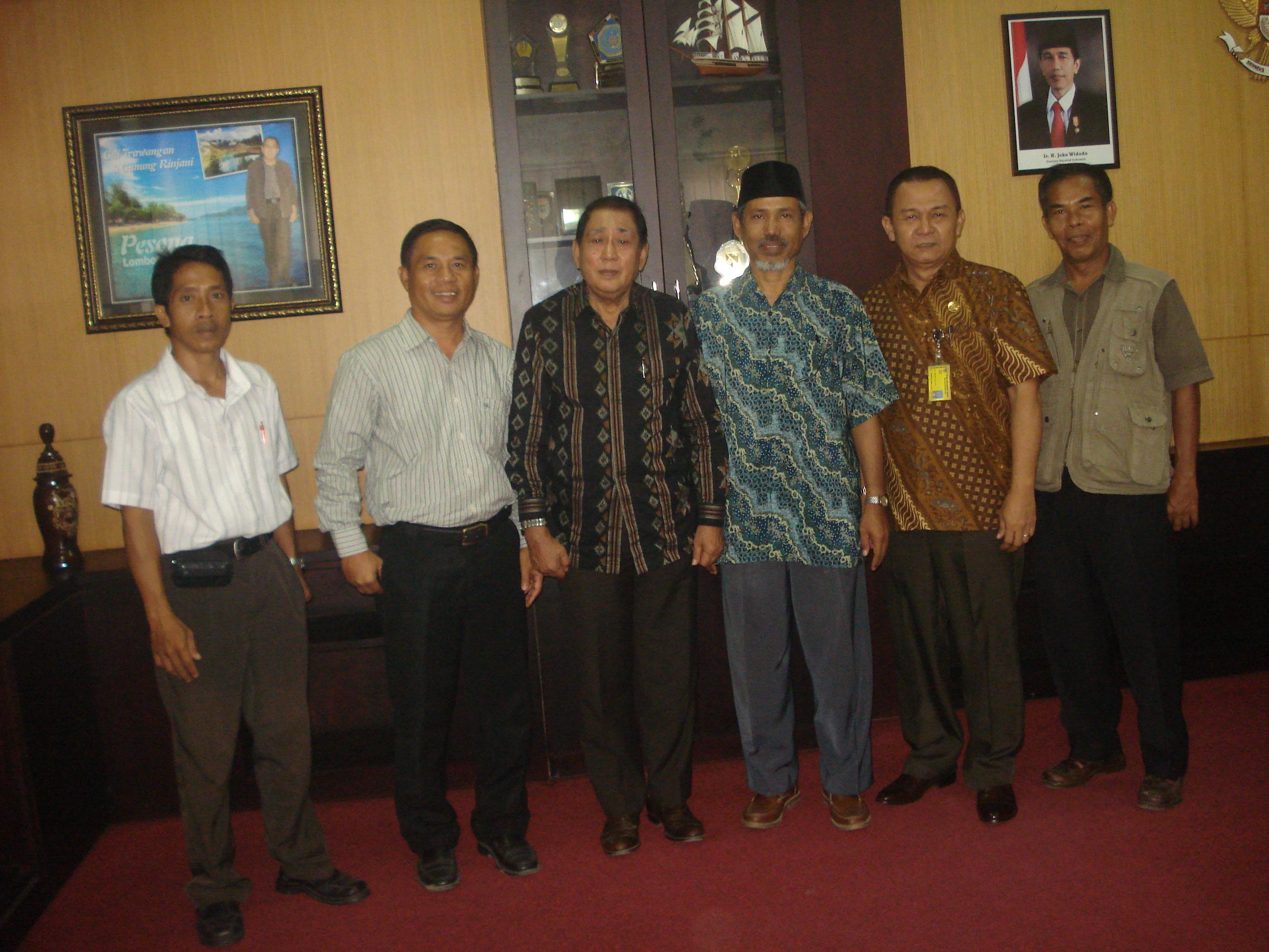 Flipmas Indonesia Tim Pelaksana Kem Gumantar Bertemu Rangka Silaturahmi Bupati