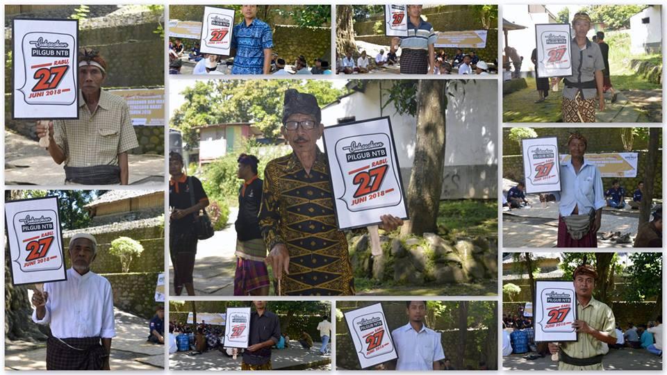 Komisi Pemilihan Umum Kabupaten Lombok Utara Kpu Klu Gelar Sosialisasi