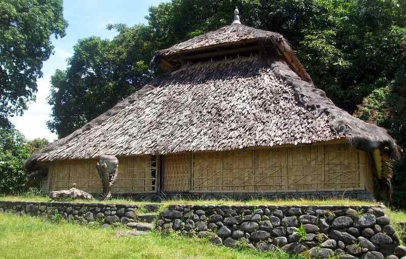 Kuno Bayan Lombok Utara Masjid Desa Gumantar Kab