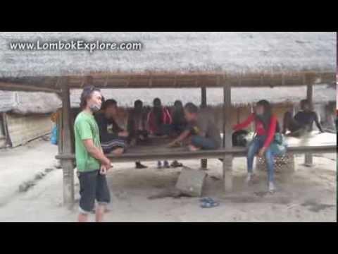 Lombok Explore Rumah Adat Gumantar Youtube Desa Kab Utara