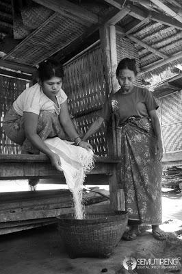 Sayur Nangka Sajian Sederhana Masyarakat Gumantar Lombok Utara Dimulai Pembagian