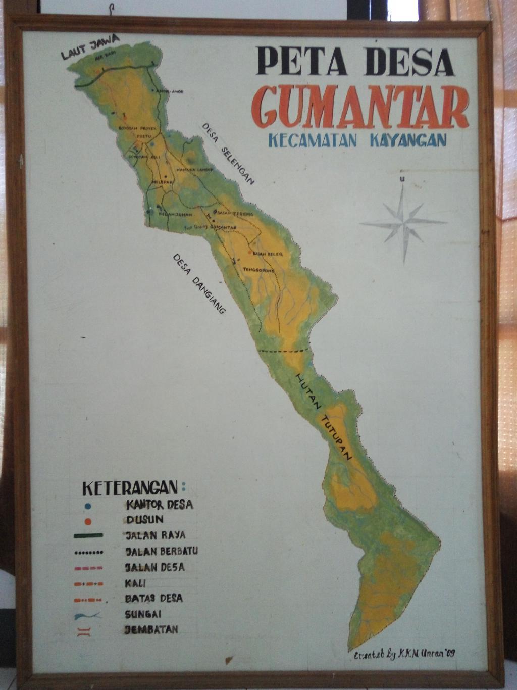 Sejarah Desa Website Gumantar Dokumen Lampiran Selayang Pandang Guamantar Kab