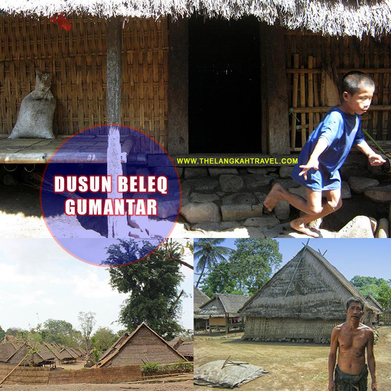 Trip Lombok Sumbawa Twitter Desa Adat Dusun Beleq Terletak Gumantar